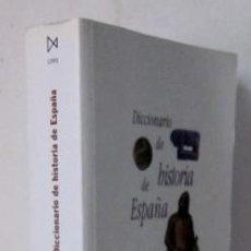 Libros de segunda mano: DICCIONARIO DE HISTORIA DE ESPAÑA. Lote 32101061