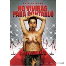 Libros de segunda mano: NO VIVIRAS PARA CONTARLO : LAS MENTIRAS DE RADIO Y TV AL DESCUBIERTO. (DE ALEX SALGADO).OCASION . Lote 32144530