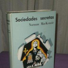 Libros de segunda mano: SOCIEDADES SECRETAS.. Lote 32036162
