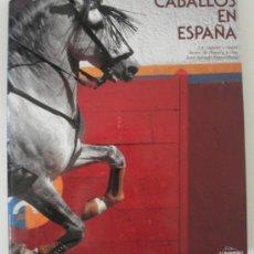 Libros de segunda mano: CABALLOS EN ESPAÑA POR J. A. GABRIEL Y GALAN, ALVARO DE DOMECQ Y DIEZ, JOAN SALBADÓ ESQUIRIHUELA. Lote 32179290