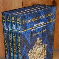 Libros de segunda mano: HISTORIA DE ASTURIAS 4T POR FRANCISCO J. FERNÁNDEZ CONDE Y OTROS DE PRENSA ASTURIANA EN 1990. Lote 174101745