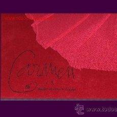 Libros de segunda mano: CARMEN BALLET DE ANTONIO GADES LIBRO MUY BUENA PRESENTACION. Lote 27572773