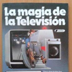 Libros de segunda mano: LA MAGIA DE LA TELEVISION , CLIPER , PLAZA & JANES , 1981. Lote 32219549