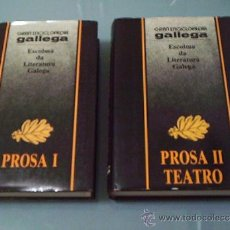 Libros de segunda mano: ESCOLMA DA LITERATURA GALEGA. PROSA I, PROSA II - TEATRO.. Lote 32231601