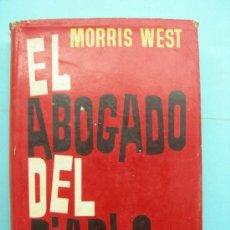 Libros de segunda mano: EL ABOGADO DEL DIABLO. WEST.. Lote 32255784