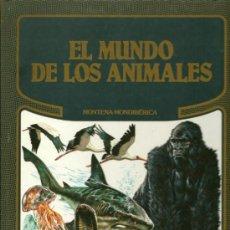 Libros de segunda mano: EL MUNDO DE LOS ANIMALES, GIORGIO P. PANINI, PIERO GOZZAGLIO, 1986. Lote 32264992