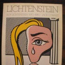 Libros de segunda mano: ROY LICHTENSTEIN 1970-1980. Lote 32375307
