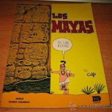 Libros de segunda mano: LOS MAYAS EN LAS ROCAS JAVIER COVO TORRES COLECCION MONO-GRAMAS 1986. Lote 32342625