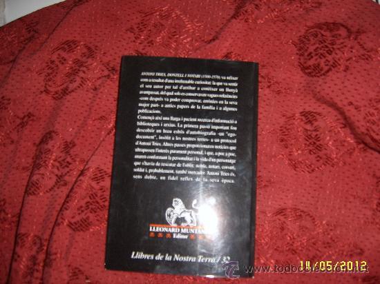 Libros de segunda mano: ANTONI TRIES.DONZELL I NOTARI ( 1500-1570 ). - Foto 4 - 32480203