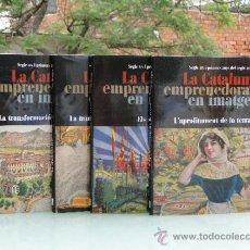 Libros de segunda mano: LA CATALUNYA EMPRENEDORA EN IMATGES. SEGLE XIX I PRIMERS ANYS DEL SEGLE XX. Lote 32506875