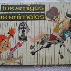 Libros de segunda mano: TUS AMIGOS LOS ANIMALES. DEL VADO, Mª LUZ Y MORO, ACOSTA. 1962. Lote 32518393