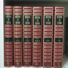 Libros de segunda mano: HISTORIA DE ESPAÑA. SEIS TOMOS : CUATRO DE HISTORIA Y DOS DE DICCIONARIO HISTÓRICO. Lote 32595127