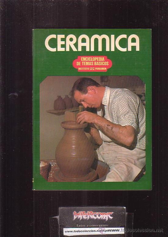 CERÁMICA / AUTOR: F. EMMANUEL COOPER (Libros de Segunda Mano - Ciencias, Manuales y Oficios - Otros)