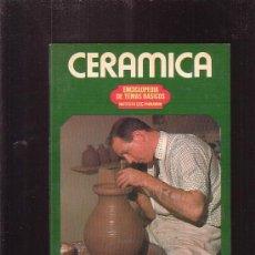 Libros de segunda mano: CERÁMICA / AUTOR: F. EMMANUEL COOPER. Lote 57081677