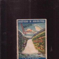Libros de segunda mano: ANÁLISIS DE AGUAS /POR: JESUS UGARTE LAISECA ( AGRICULTURA ). Lote 32633794