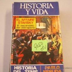 Libros de segunda mano: HISTORIA Y VIDAHISTORIA DEL TENIS19752 €. Lote 32719622