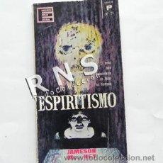 Libros de segunda mano: ESPIRITISMO - JAMESON ENCICLOPEDIA POPULAR ILUSTRADA Nº 24 MISTERIO ESOTERISMO CASOS ETC - LIBRO. Lote 32665884