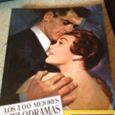 Libros de segunda mano: LOS 100 MEJORES MELODRAMAS DE LA HISTORIA DEL CINE LUIS MIGUEL CARMONA. Lote 32689646