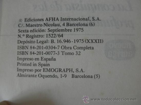 Libros de segunda mano: LA CONQUISTA DE LAS PROFUNDIDADES MARINAS * ANTONIO RIBERA * NUEVO AURIGA * 1975 TAPA DURA - Foto 3 - 32712265