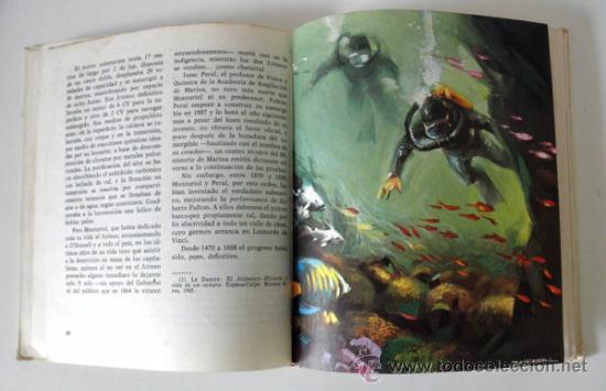 Libros de segunda mano: LA CONQUISTA DE LAS PROFUNDIDADES MARINAS * ANTONIO RIBERA * NUEVO AURIGA * 1975 TAPA DURA - Foto 4 - 32712265
