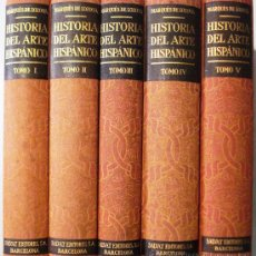 Libros de segunda mano: HISTORIA DE ARTE HISPANICO -MARQUES DE LOZOYA 5 TOMOS. Lote 32761458