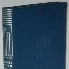 Libros de segunda mano: NOVELA Y TEATRO POR VALENTÍN ANDRÉS ALVAREZ DE ED. AGUILAR EN MADRID 1948 PRIMERA EDICIÓN. Lote 32819159