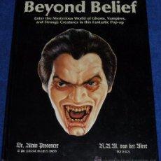 Libros de segunda mano: BEYOND BELIEF - LIBRO POP-UP - 1991. Lote 32906278