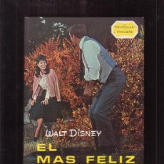 Libros de segunda mano: EL MAS FELIZ MILLONARIO, BASADA EN LA PELICULA WALT DISNEY -EDITA : GAISA 1968 . Lote 32914775