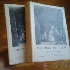 Libros de segunda mano: HISTORIA DEL ARTE - DOS TOMOS / ANGULO ÍÑIGUEZ. Lote 32965899