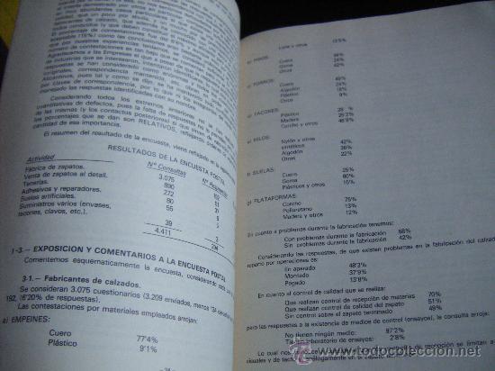 Libros de segunda mano: ESTUDIO SOBRE CONTROL DE CALIDAD EN LA INDUSTRIA DEL CALZADO, DIPUTACION DE ALICANTE, 1974, VER FOTO - Foto 14 - 67200790