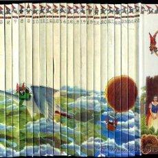 Libros de segunda mano: EL MUNDO SECRETO DE LOS GNOMOS - 25 TOMOS (PLAZA, 1987). Lote 33677594