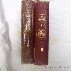 Libros de segunda mano: CURSO DE TECNICO MOTORES DIESEL. 2 VOLÚMENES. Lote 34923804