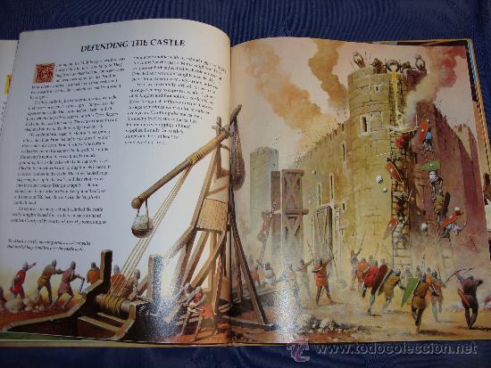 LIBRO CABALLEROS Y CASTILLOS (Libros de Segunda Mano - Literatura Infantil y Juvenil - Otros)