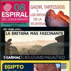 Libros de segunda mano: ESPIRAL REVISTA ESOTÉRICA 2002. Lote 33252360