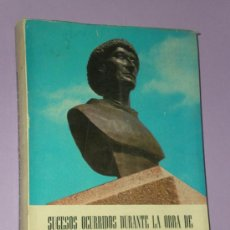 Libros de segunda mano: SUCESOS OCURRIDOS DURANTE LA OBRA DE LA CAPILLA DE SAN PEDRO DE ALCÁNTARA.. Lote 33364987
