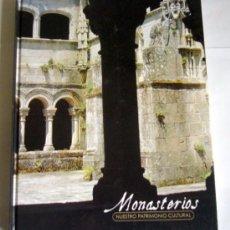 Libros de segunda mano: MONASTERIOS - PABLO GARCIA MARTINEZ - EDICIONES RUEDA. COLECCION NUESTRO PATRIMONIO CULTURAL . Lote 33379152
