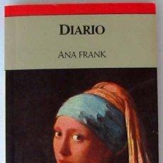Livres d'occasion: DIARIO DE ANA FRANK - PLAZA & JANES 1990 - 317 PÁGINAS - VER DESCRIPCIÓN. Lote 33379089