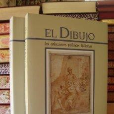 Libros de segunda mano - EL DIBUJO: LAS COLECCIONES PUBLICAS ITALIANAS (2 vols.) - 33405082