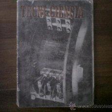 Libros de segunda mano: TECNI-CIENCIA, NUMERO 4.. Lote 33424885