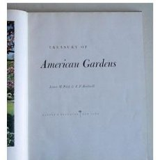 Libros de segunda mano: JARDINES AMERICANOS. LIBRO GRÁFICO EN COLOR. DECORACIÓN DE JARDINES. Lote 33486604