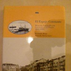 Libros de segunda mano: EL ESPEJO CONSTANTE, MEMORIA FOTOGRAFICA DE SANTANDER Y SU PUERTO 1861-1950. BERNARDO RIEGO. . Lote 33516677
