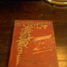 Libros de segunda mano - Poesias de Manuel Acuña, Biblioteca Poetica, Poesias, Garnier Hermanos - 33623261