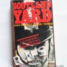 Libros de segunda mano: SCOTLAND YARD - CASOS REALES - HISTORIA POLICÍA BRITÁNICA - DOPESA - CRIMEN ROBO ASESINOS LIBRO. Lote 33653403