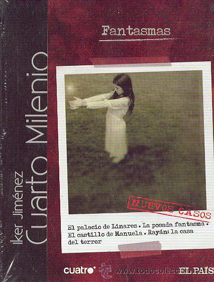 Iker jim nez cuarto milenio fantasmas lib comprar for Ultimo libro de cuarto milenio