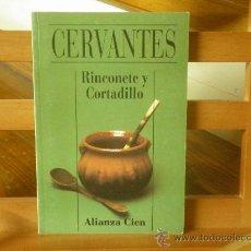 Libros de segunda mano: RINCONETE Y CORTADILLO (CERVANTES). Lote 33689700