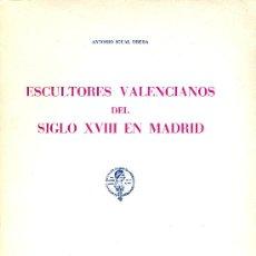 Antonio igual ubeda escultores valencianos del comprar - Libreria segunda mano valencia ...