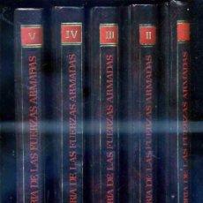 Libros de segunda mano: HISTORIA DE LAS FUERZAS ARMADAS (PALAFOX, ZARAGOZA, 1983) 5 TOMOS. Lote 33704365
