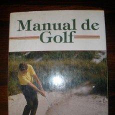 Libros de segunda mano: MANUAL DE GOLF. Lote 33771960