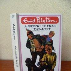 Libros de segunda mano: MISTERIO EN VILLA RAT-A-TAT. NOVELA. - BLYTON, ENID ESPASA, COLECCIÓN MISTERIO N°20, 1988, MADRID. -. Lote 33783817