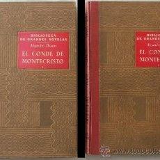 Libros de segunda mano: ALEJANDRO DUMAS: EL CONDE DE MONTECRISTO 2 TOMOS ED.RAMON SOPENA 1950. Lote 33967351